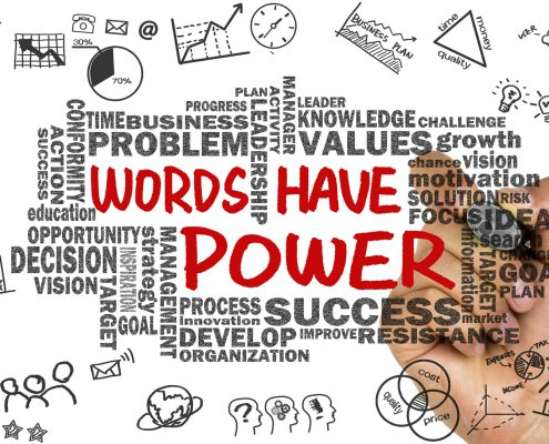 Willing Change words have power