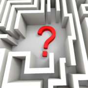 Growth Mindset - Question mark in maze shows thinking